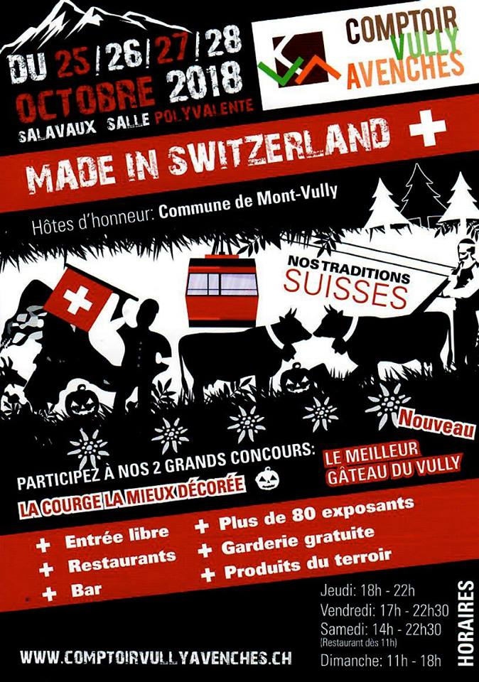 Comptoir Vully Avenches 2018
